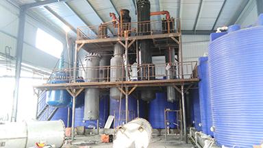 长沙三效逆流降膜蒸发系统