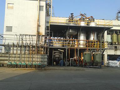 试剂盐酸成套设备提纯的过程